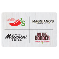 $10 Chili's Grill & Bar Gift Card
