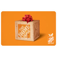 $25 The Home Depot® Gift Card