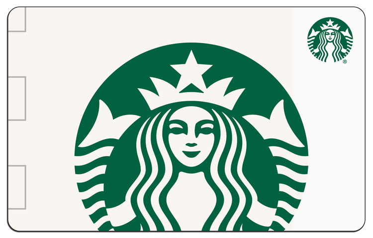 $10 Starbucks Card