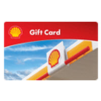 $50 Shell Gift Card